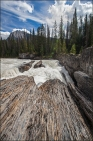 Kicking Horse River at the Natural Bridge in Yoho National Park